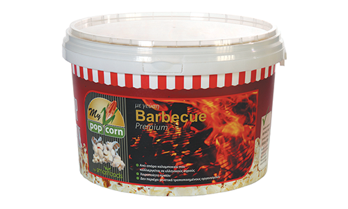 Pop Corn with Barbecue flavor